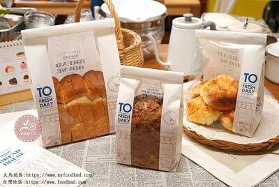 土司袋 麵包袋 甜點袋 西點袋 紙袋 開窗袋 透明袋