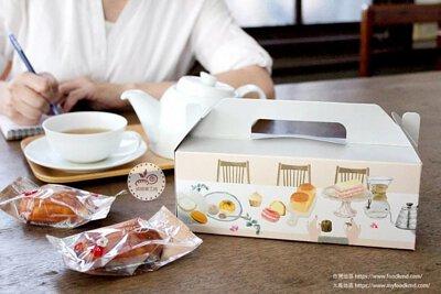 蛋糕盒 草莓蛋糕 手提盒 透明蛋糕盒 白色蛋糕盒 簡易盒 長條盒