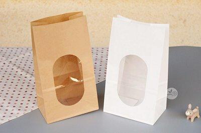 紙袋 點心袋 麵包袋 開窗袋 牛皮紙袋