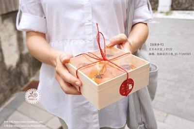 木片盒 簡易盒 透明盒 餐盒 烘焙包裝