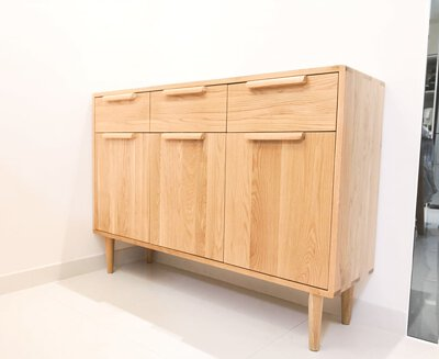hardwood cabinet oak wood