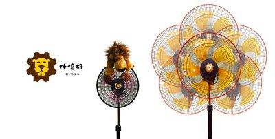 360度循環電風扇