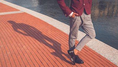 90度氣墊船襪M號