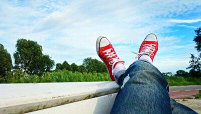 學生襪:輕壓護足氣墊襪