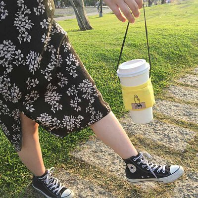 飲料提袋結合文創與設計,提袋隨著溫度變化更有趣