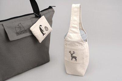 飲料提袋包覆款|杯瓶都能裝的環保杯袋