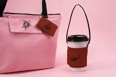 飲料提袋經典款|輕鬆帶著走的環保杯套