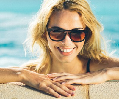 時尚×文青×設計。英國時尚Tens太陽眼鏡