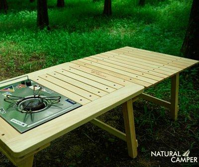 極簡×細節×設計。Natural Camper 溫潤的木職人