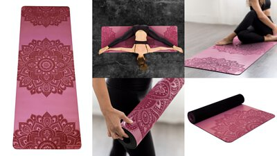 Infinity Mat-Rose (5mm)-Yoga Design Lab|DOING GOOD