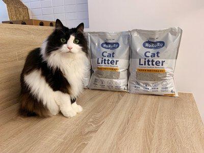 拉茶花的貓使用hururu礦砂