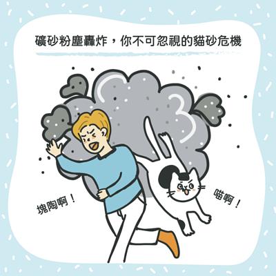 礦砂粉塵轟炸!你不可忽視的貓砂危機