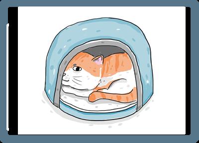 貓咪專屬安心小屋