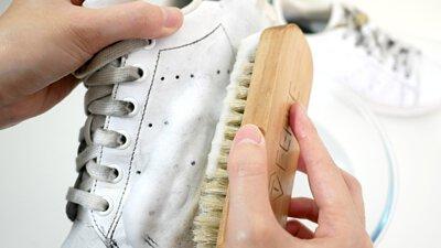 刷洗stan smith髒鞋