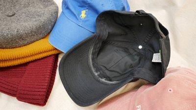 帽子內襯沾到粉底液