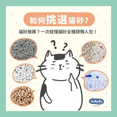 如何挑選貓砂?