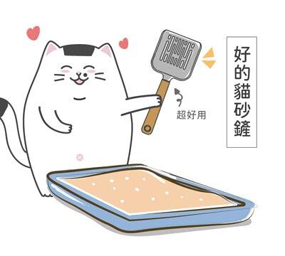 好的貓砂鏟