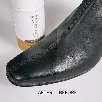 皮革靴清潔
