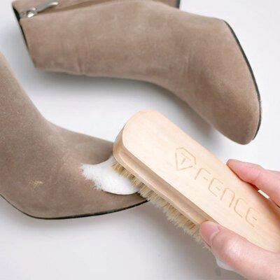 麂皮靴清潔