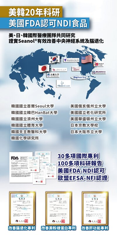 iSeanol專利和科研