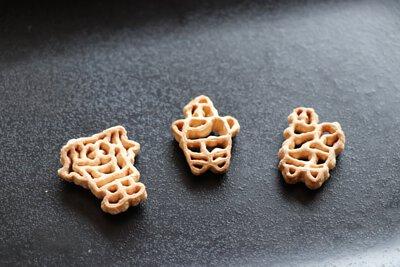 海綿寶寶造型的義大利麵