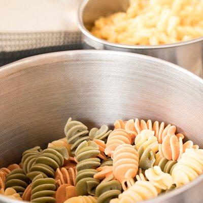 鍋中等待被爆的義大利麵