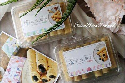 [宅配美食]青鳥旅行.蛋捲的100種可能 簡約盒全新上市~甜媽媽的嘴 甜媽媽的心