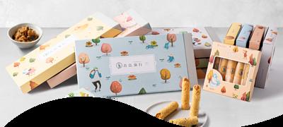 手工蛋捲熱銷品牌 - 青鳥旅行創意灌餡蛋捲