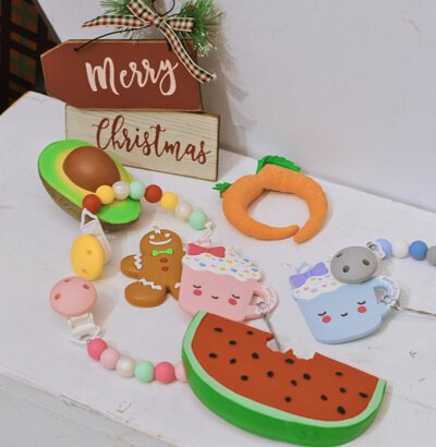 盡情咬固齒器禮盒, xmas bundle, xmas giftbox, 固齒器, teether, teething