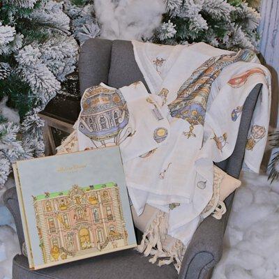 Atelier Choux 新生兒禮盒組, xmas bundle, xmas giftbox, giftbox, atelier choux, 包巾