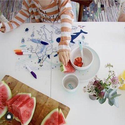 superpetit, 彩繪餐墊, tablemap, 餐墊