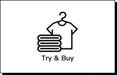 Try & Buy 線上預約 線下試穿