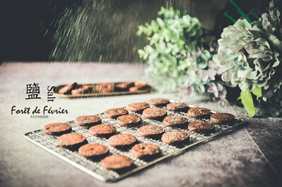 純手工餅乾岩鹽巧克力的喜餅禮盒, 帶有台灣本土素材的發想,2018新人首選客制化手工喜餅