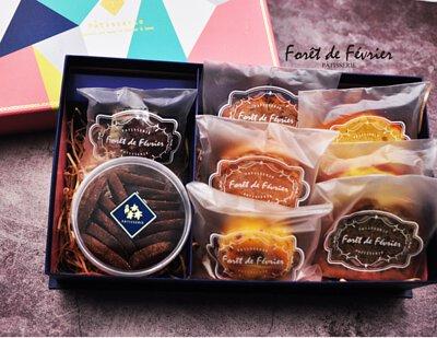 二月森手工喜餅禮盒,手工喜餅樣式
