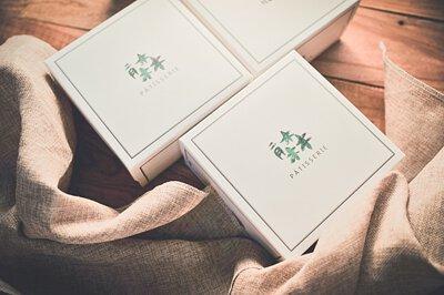 二月森彌月禮盒,新生兒的誕生,2018最精緻彌月蛋糕推薦,高質感透明鍛帶盒型。蛋糕捲與彌月常溫禮盒給寶寶最好的祝褔