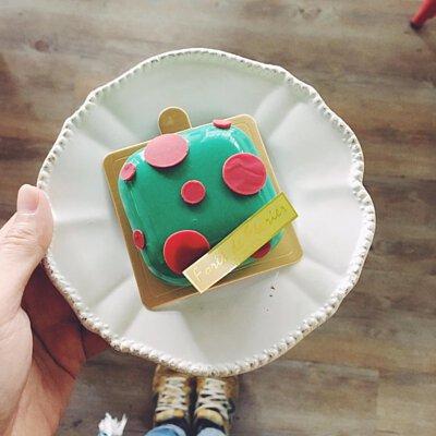 聖誕節、恐龍、二月森、生日蛋糕、台中法式甜點 #手工餅乾, #手工喜餅, 水泥, #喜餅推薦
