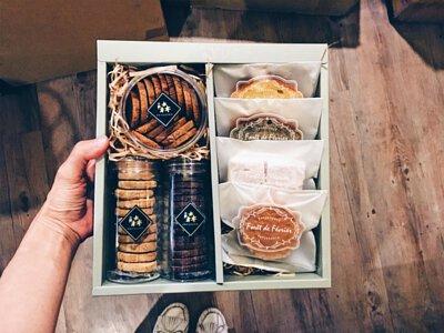 手工喜餅禮盒莫蘭迪