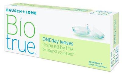 博士倫 Bausch+Lomb 1-Day Biotrue Bausch+Lomb 長效保濕CON 每日拋棄型隱形眼鏡 (Biotrue One Day)