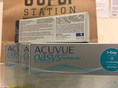 1 day acuvue Oasys隱形眼鏡