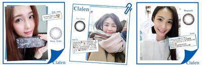 Clalen Iris Color Con隱形眼鏡