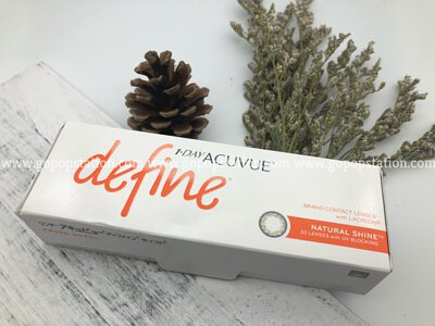 Acuvue define 閃亮金 Natural Shine 隱形眼鏡