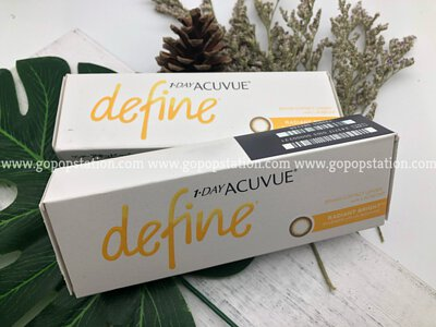 Acuvue define 閃鑽啡 Radiant Bright 隱形眼鏡
