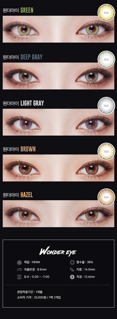 lens story wonder eye contact lens