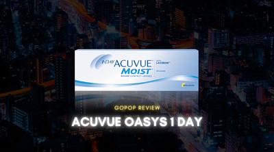 1 day acuvue Moist隱形眼鏡