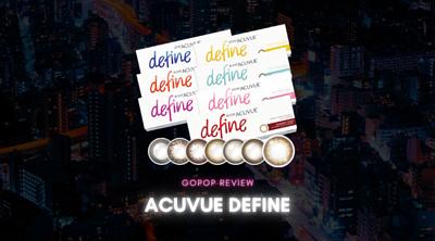 1 day acuvue define Color Con隱形眼鏡