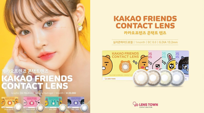 Kakao Friends Contact Lens