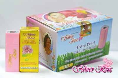Silver Rose Pearl Beauty Cream - Lightening, Smoothing Skin