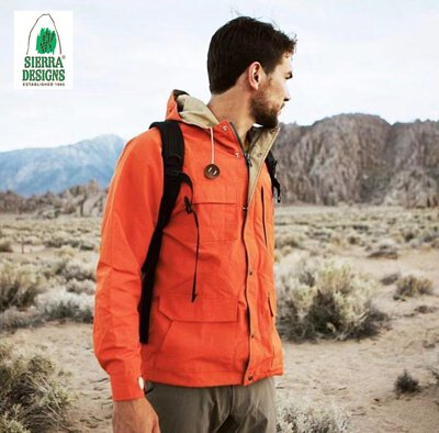 sierra designs,戶外服飾,登山外套,防水外套,波樂