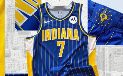 Pacers city uniform