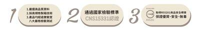 潘希恩行李箱通過國家檢驗標準,取得安全標章